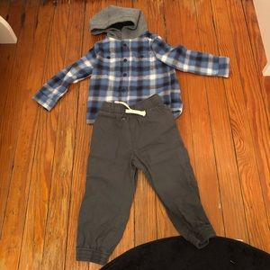 Toddler Boys 2T Long Sleeve Outfit